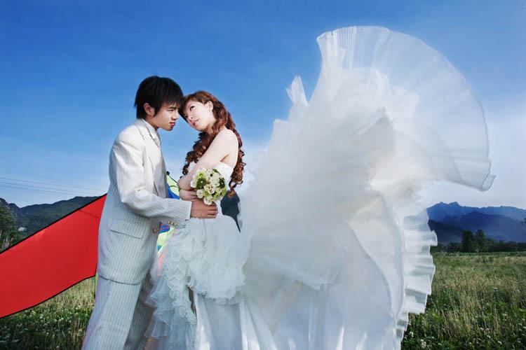 三弟夫妻 | 婚纱客照 | 作品展示 | 珠海巴黎春天婚纱